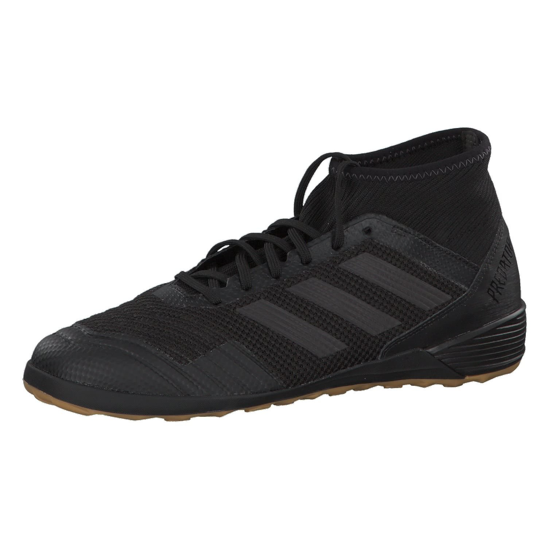 Adidas Predator Tango 18.3 In, Zapatillas de Fútbol Sala para Hombre 46 noir/noir/rouge corail