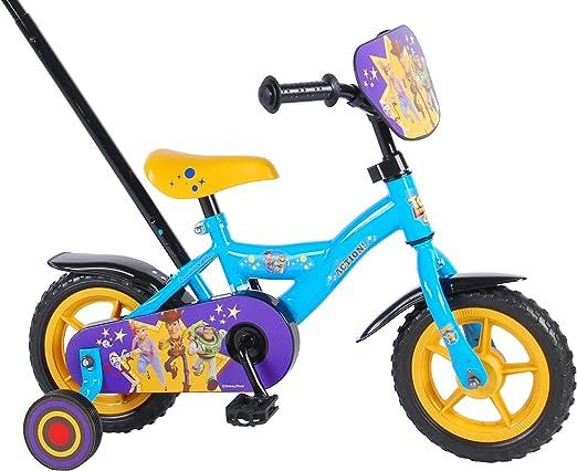 Bicicleta Infantil Niño 10 Pulgadas Toy Story Conducción Delantera ...