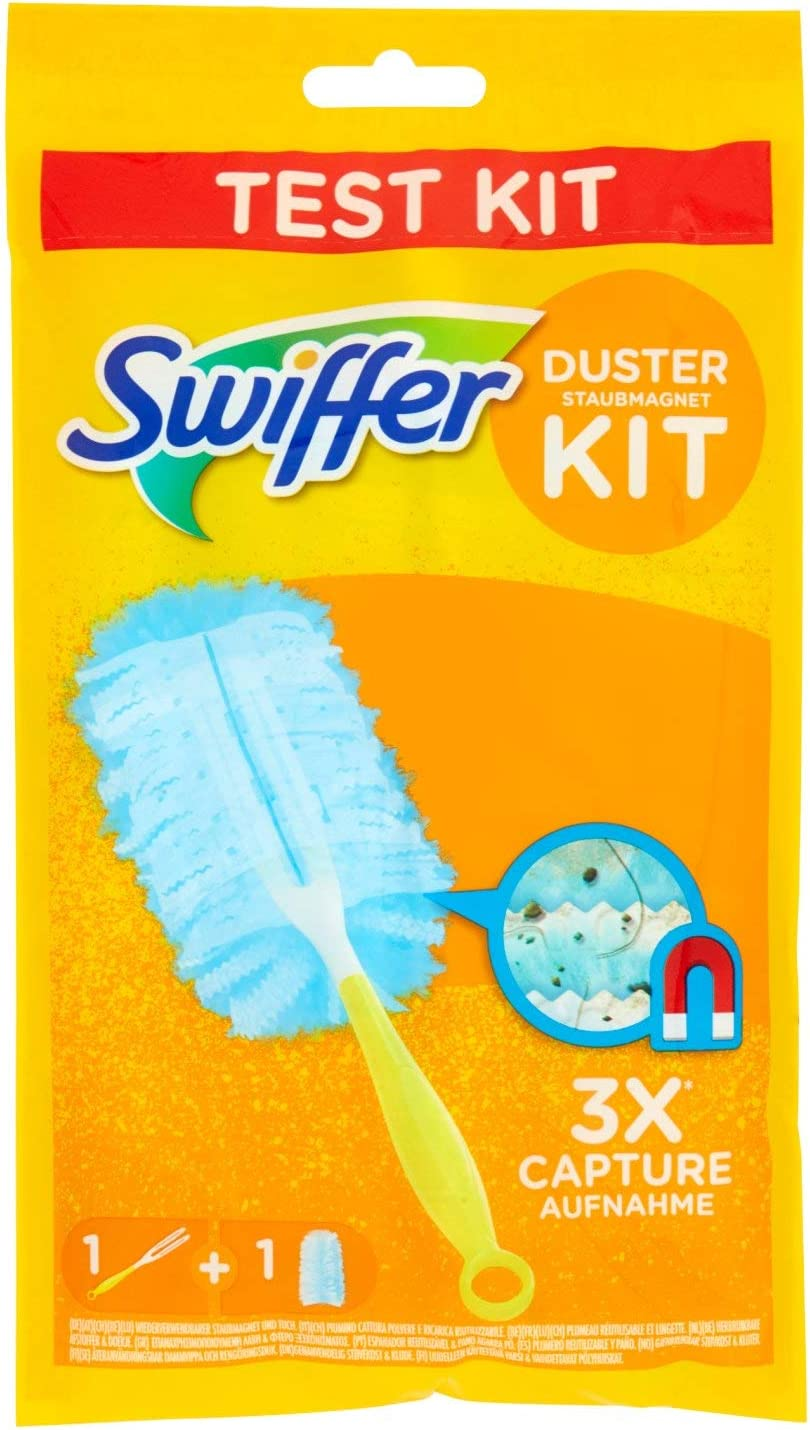 Swiffer Duster Kit con Mango y Recambio para Plumero - 1 Unidad ...