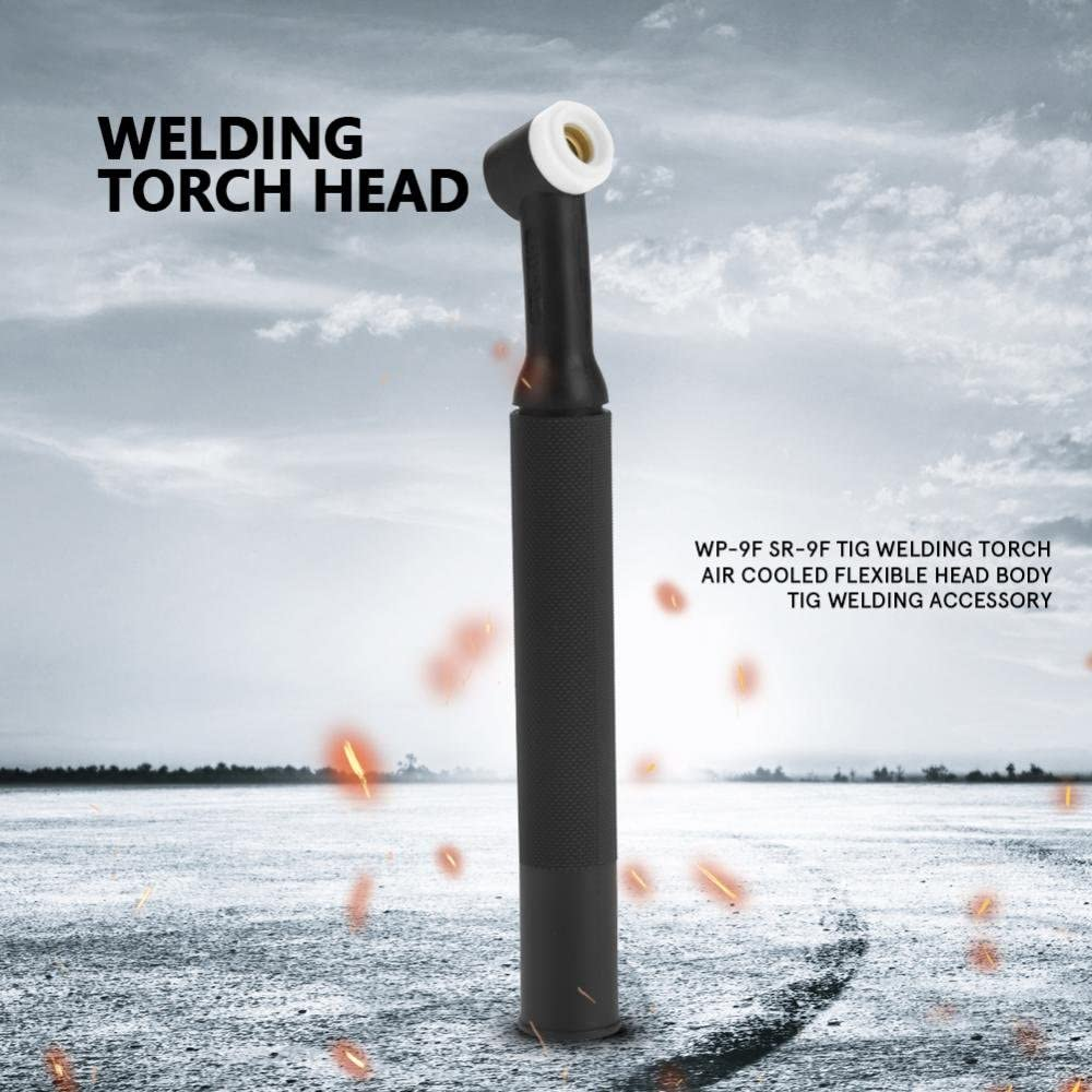 WP-9F SR-9F Tig Welding Torch Head Body Flexible Head with Gas Valve Air Cooled Tig Welding Accessory