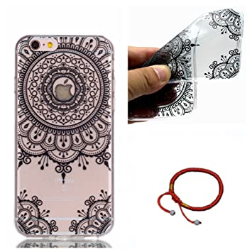 GOCDLJ Funda para iPhone 6 Plus TPU Silicona Transparent iPhone 6S Plus Carcasa Ultra Delgado Fino y Resistente a Caidas Case Teléfono Caso Cover ...