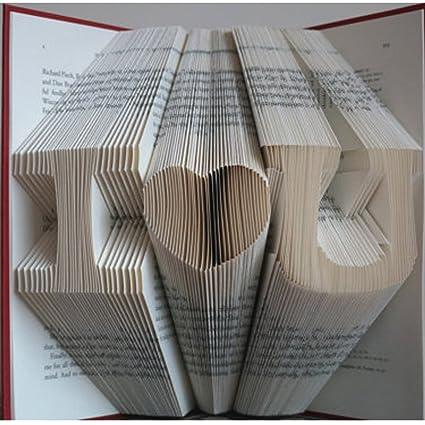 Amazon Folded Book Art