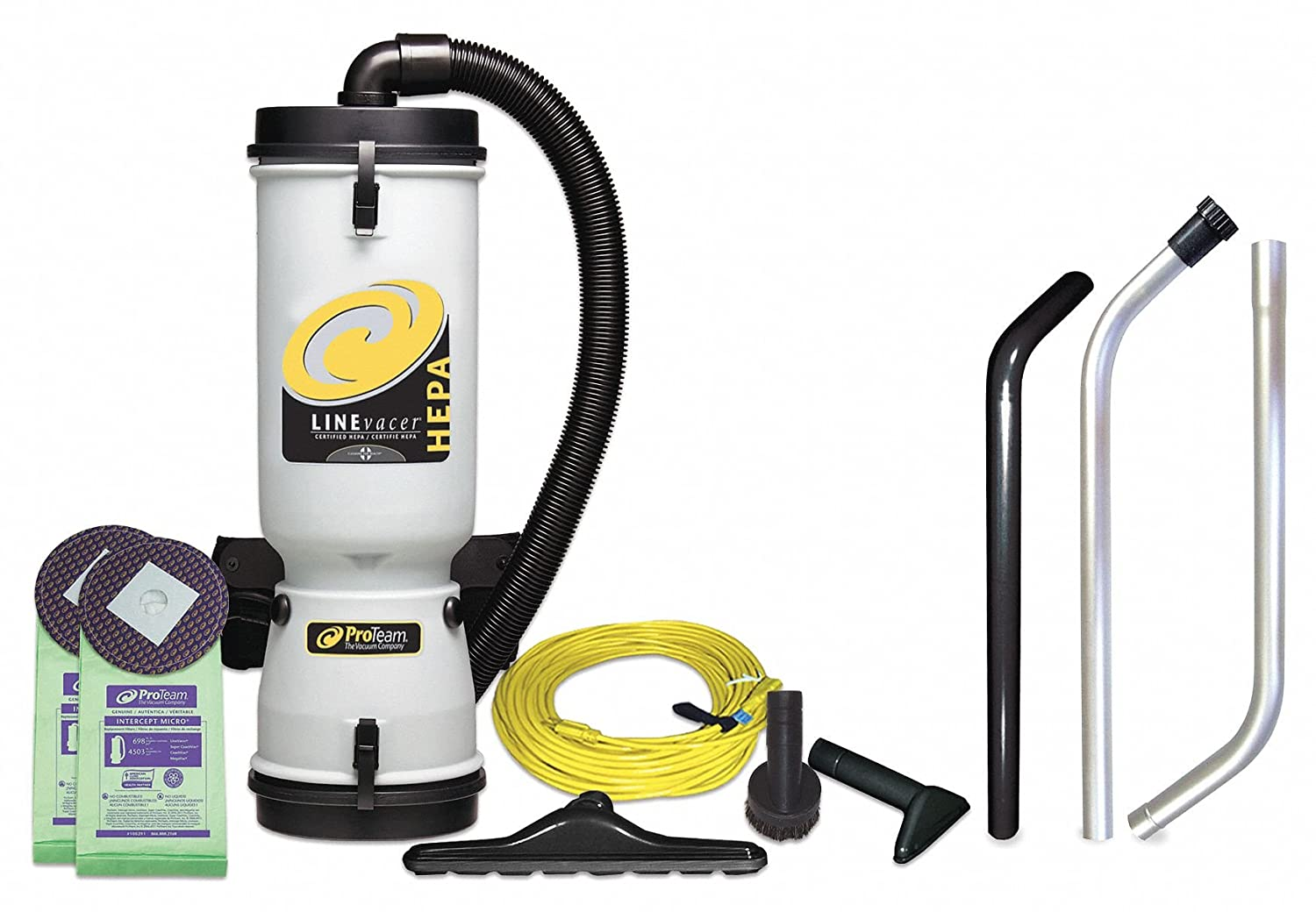 Pro-Team HEPA LineVacer Backpack Vacuum