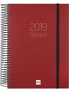 Agenda 2019 día página euskera: Amazon.es: Oficina y papelería