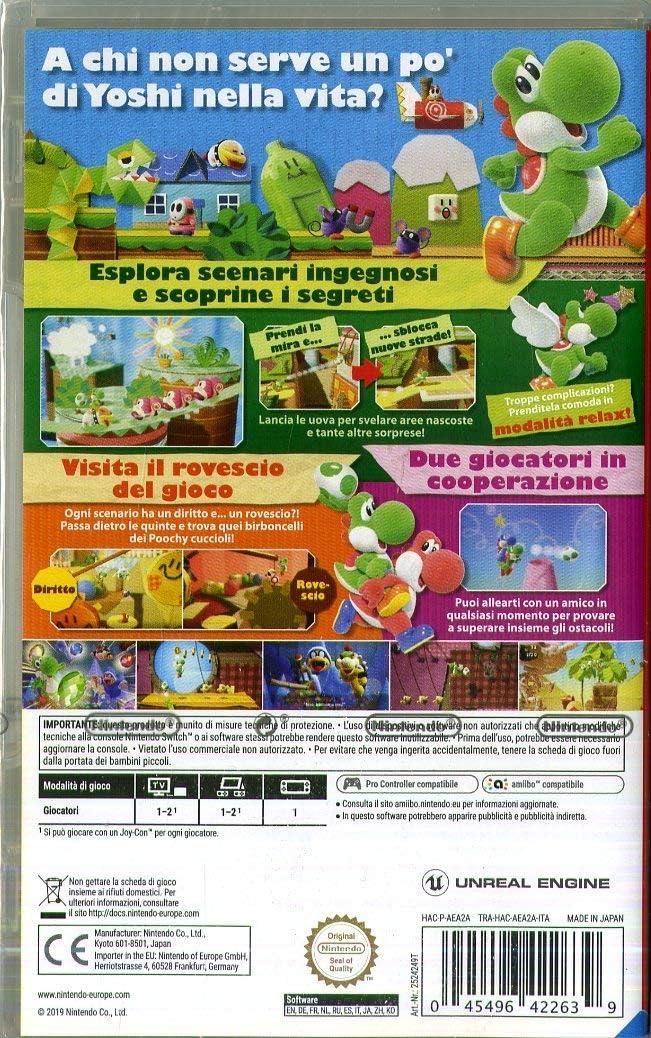 Yoshi`s Crafted World - Nintendo Switch [Importación italiana ...