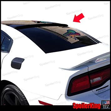 SpoilerKing Rear Window Roof Spoiler compatible with Dodge Charger 2011-14
