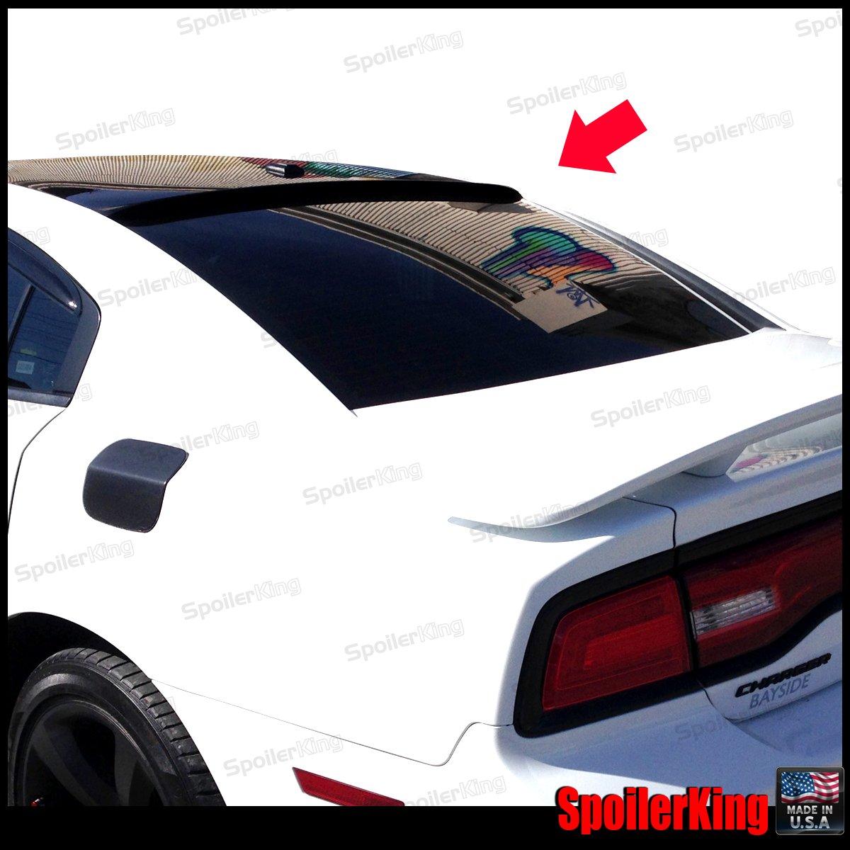 Amazon.com: Dodge Charger 2011-14 Rear Window Roof Spoiler ...