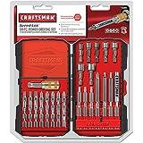"Craftsman 54pc Driving Set 1/4"" Speed-lok Quick Connector, Power Bit, Nut Setter"