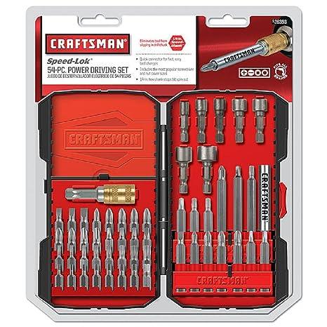 Craftsman 54pc Driving Set 1/4
