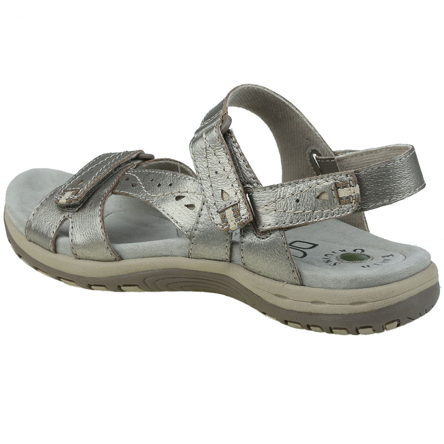 Earth Origins Women's Sophie Sandals B0795FLPPC 7 C/D US|Platinum