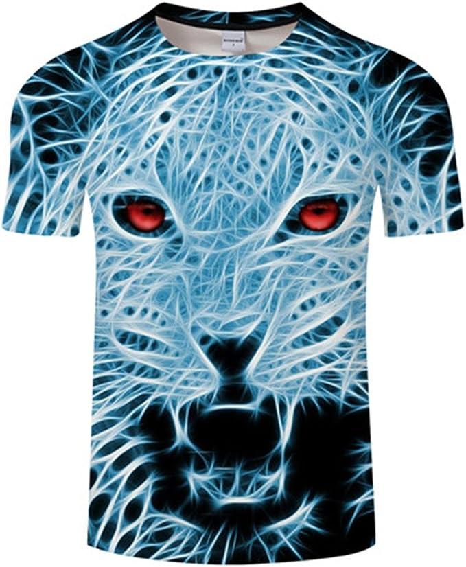 Amazon.com: Camiseta de manga corta para hombre, diseño de ...