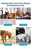 WiFi Pet Dog Camera TOOGE Pet Monitor Indoor Home