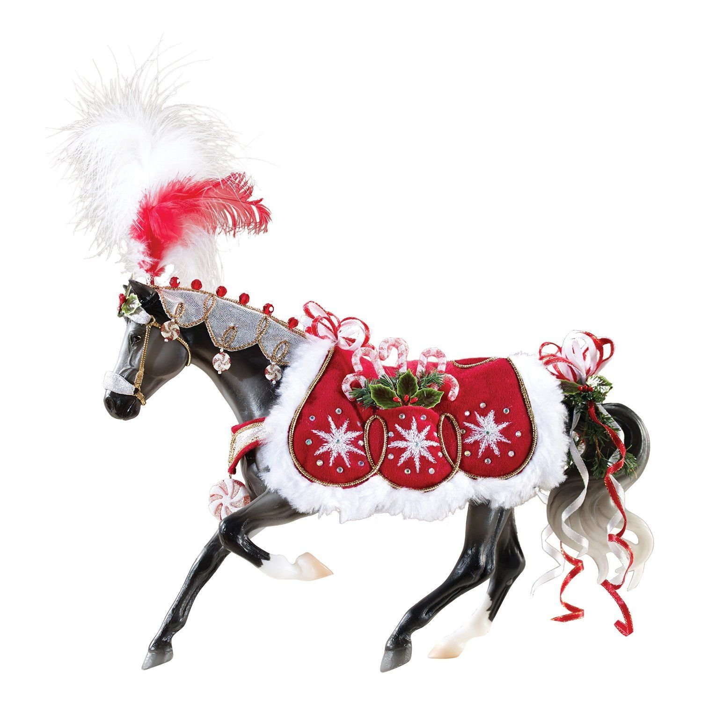 amazoncom breyer 2015 holiday horse peppermint kiss doll toys games - Christmas Horse