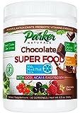 Berry Green Chocolate Superfood Powder with Organic Greens & Organic Fruits, Enzymes, Probiotics, Antioxidants, Vitamins, Minerals - Alkalize & Detox - Non GMO, Vegan & Gluten Free - 240 Grams …