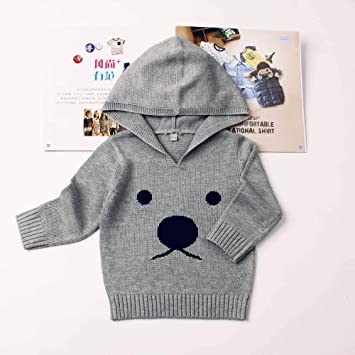 0d9373cdd Amazon.com   fumak Spring Knitted Sweaters for Baby Boys Girls Cardigan  Cartoon Pattern Newborn Baby Bunny Jumpers Autumn Outerwear Infant Knitwear  (6M
