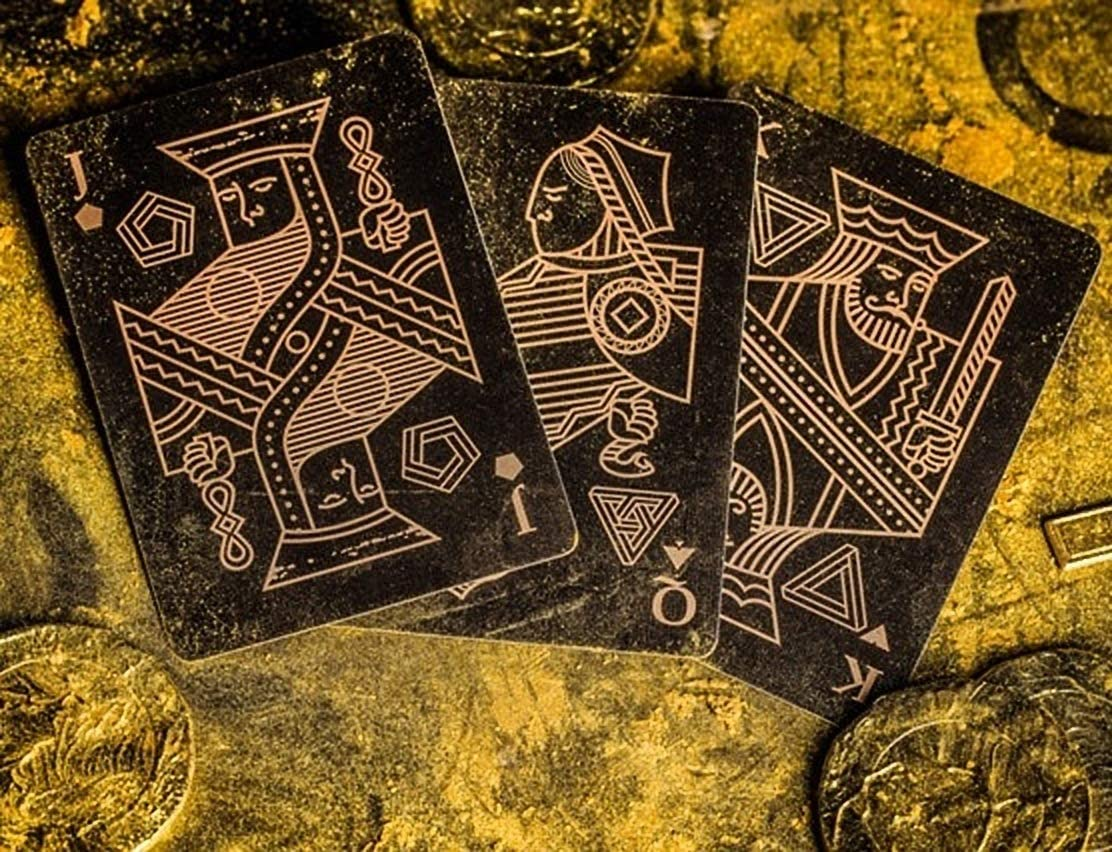 Save Playing Cards Evil /& Justice Revenge by BOCOPO