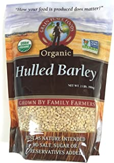 product image for Grain Place Foods Non-GMO Organic Hulled Barley 2lb Bag