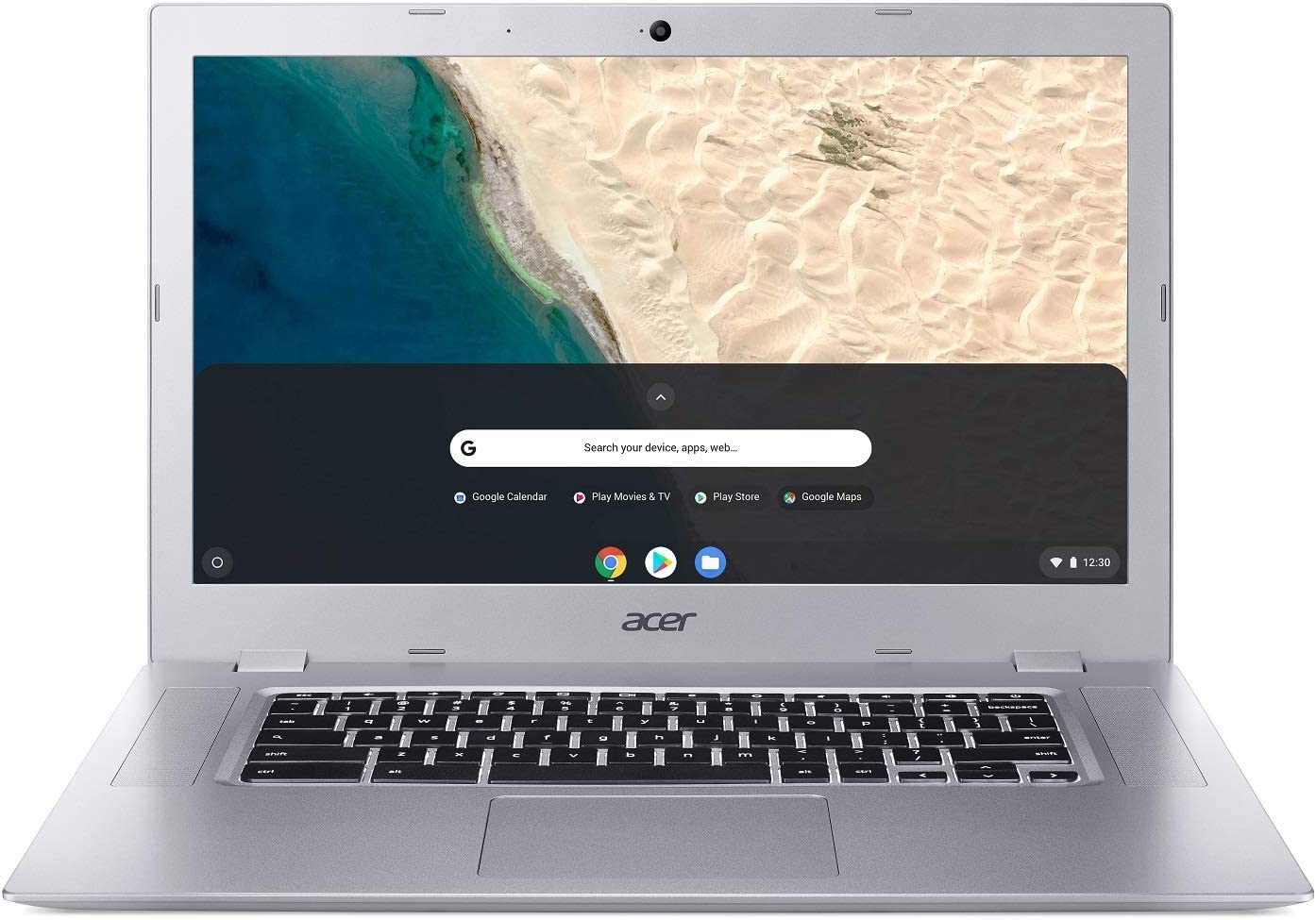 "Acer Chromebook 315, AMD Dual-Core A4-9120C Processor, 15.6"" HD, AMD Radeon R4 Graphics, 4GB DDR4, 32GB eMMC, Google Chrome, CB315-2H-25TX (Renewed)"