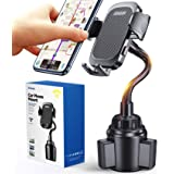 【2 in 1】 Car Phone Holder Mount,【Ultra Steady】 Cup & Air Vent Phone Holder, Safety Hands Free Car Mounting for iPhone 12 Pro