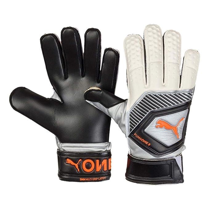 Puma One Protect 1 Guanti Portiere Adulto Con Stecche white//black//orange