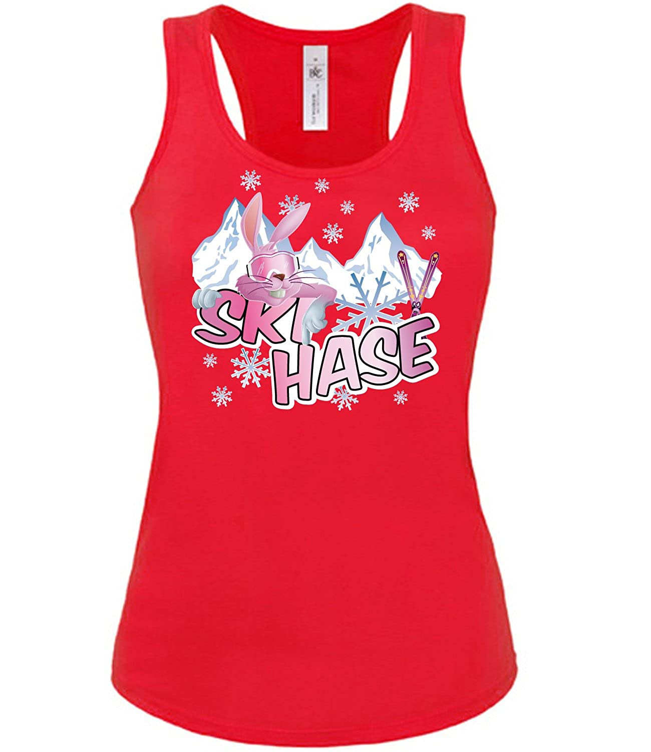 Wintersport - APRE`S SKI - SKIHASE - Cooles Fun Tank Top Damen S-XL - Deluxe