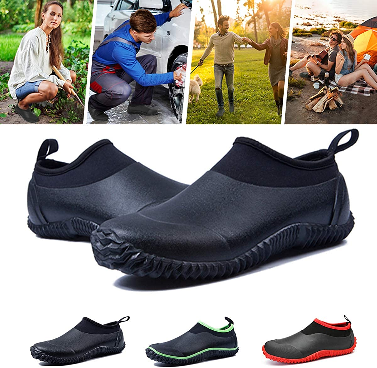 gracosy Unisex Rubber Water Shoes WAS £29.99 NOW £20.99 w/code gracosy0914b @ Amazon