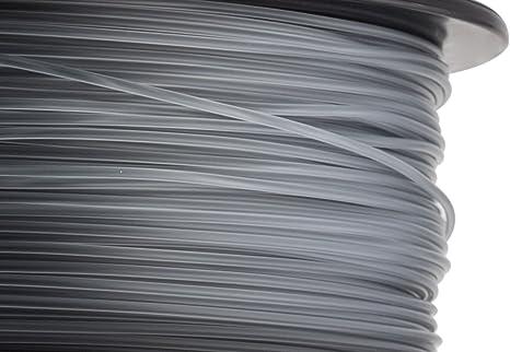 hatchbox 1,75 mm transparente negro ABS de filamento para ...
