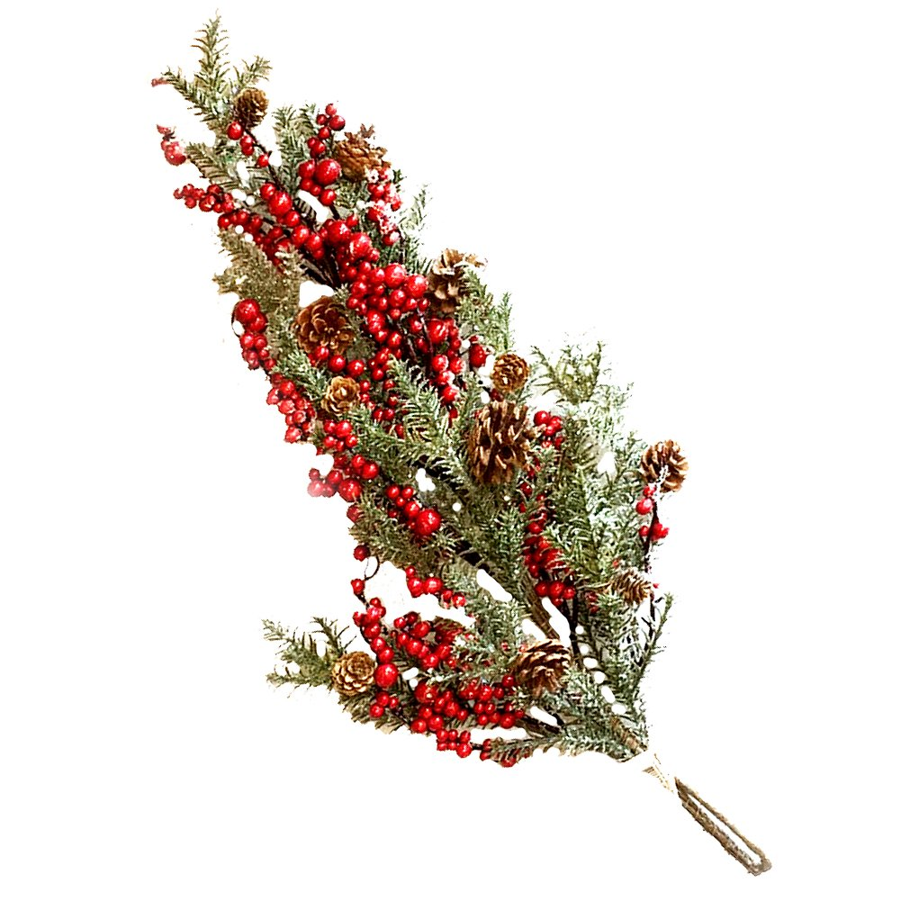 Darice Christmas Pinecone Mixed Pine Teardrop 28 Inches