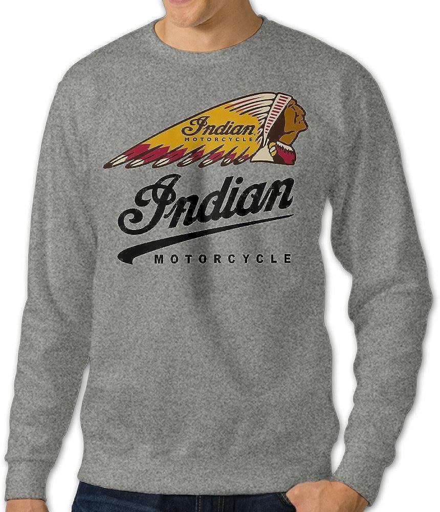 Indian Motorcycle Hoodie SOA Vintage Classic Motorbike Fans Men Sweatshirt Top