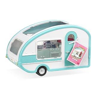 Lori by OG Aqua Roller Glamper RV Camper Vehicle for Doll, 6-Inch 69138AM