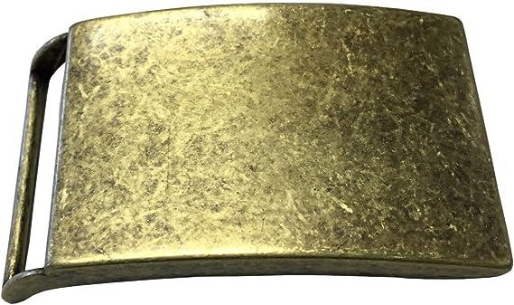 f/ür Jagd und Trachten-Outfit Brazil Lederwaren G/ürtelschnalle Gams 4,0 cm Buckle Wechselschlie/ße G/ürtelschlie/ße 40mm Massiv