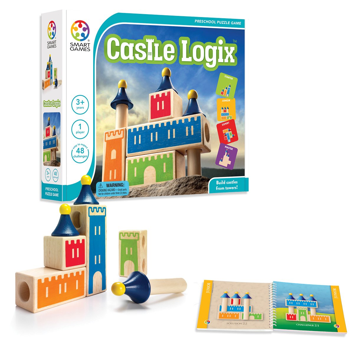 SmartGames Castle Logix Smart Toys and Games