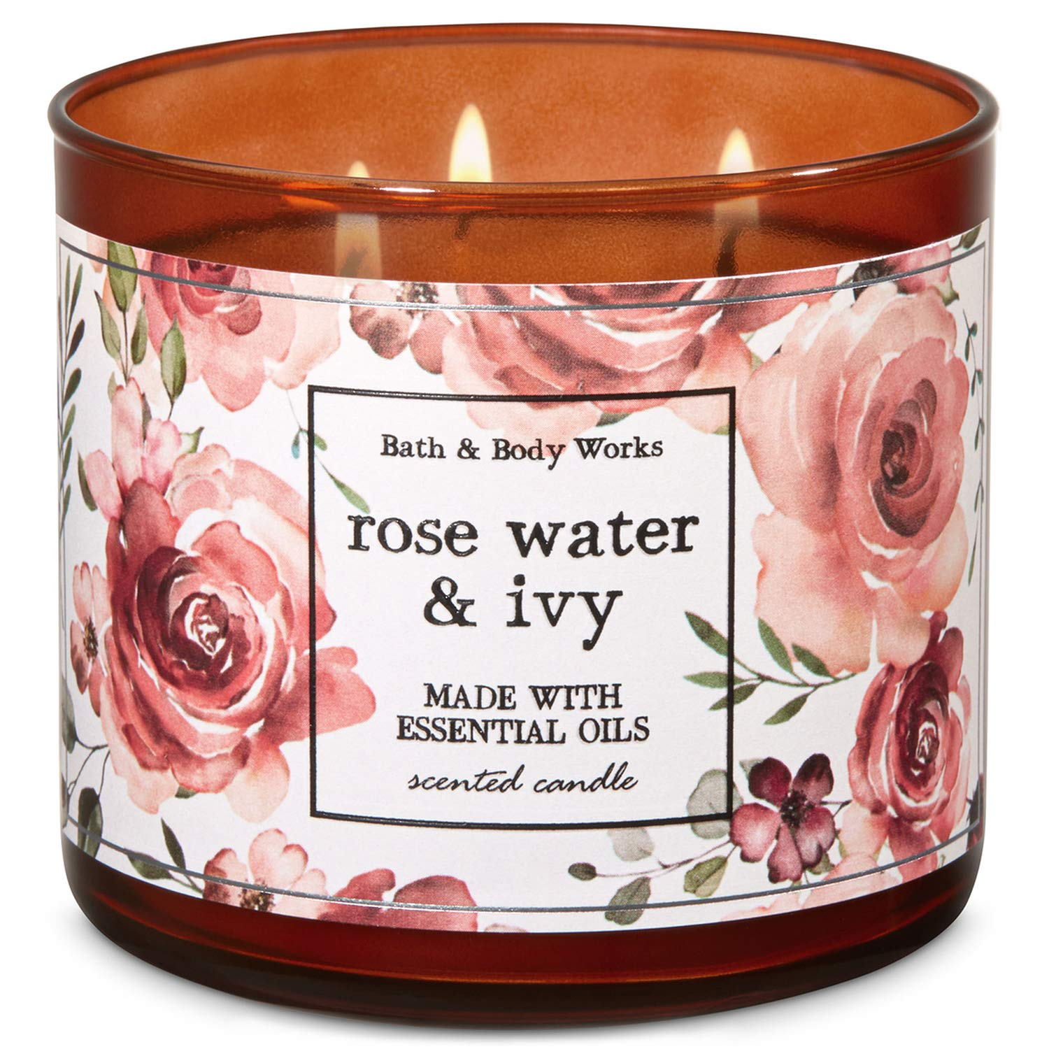 Bath And Body Works Rose Water Ivy 3 Wick Candle 14 5 Ounce 2019 Limited Edition Buy Online In Sint Maarten At Sintmaarten Desertcart Com Productid 98305722