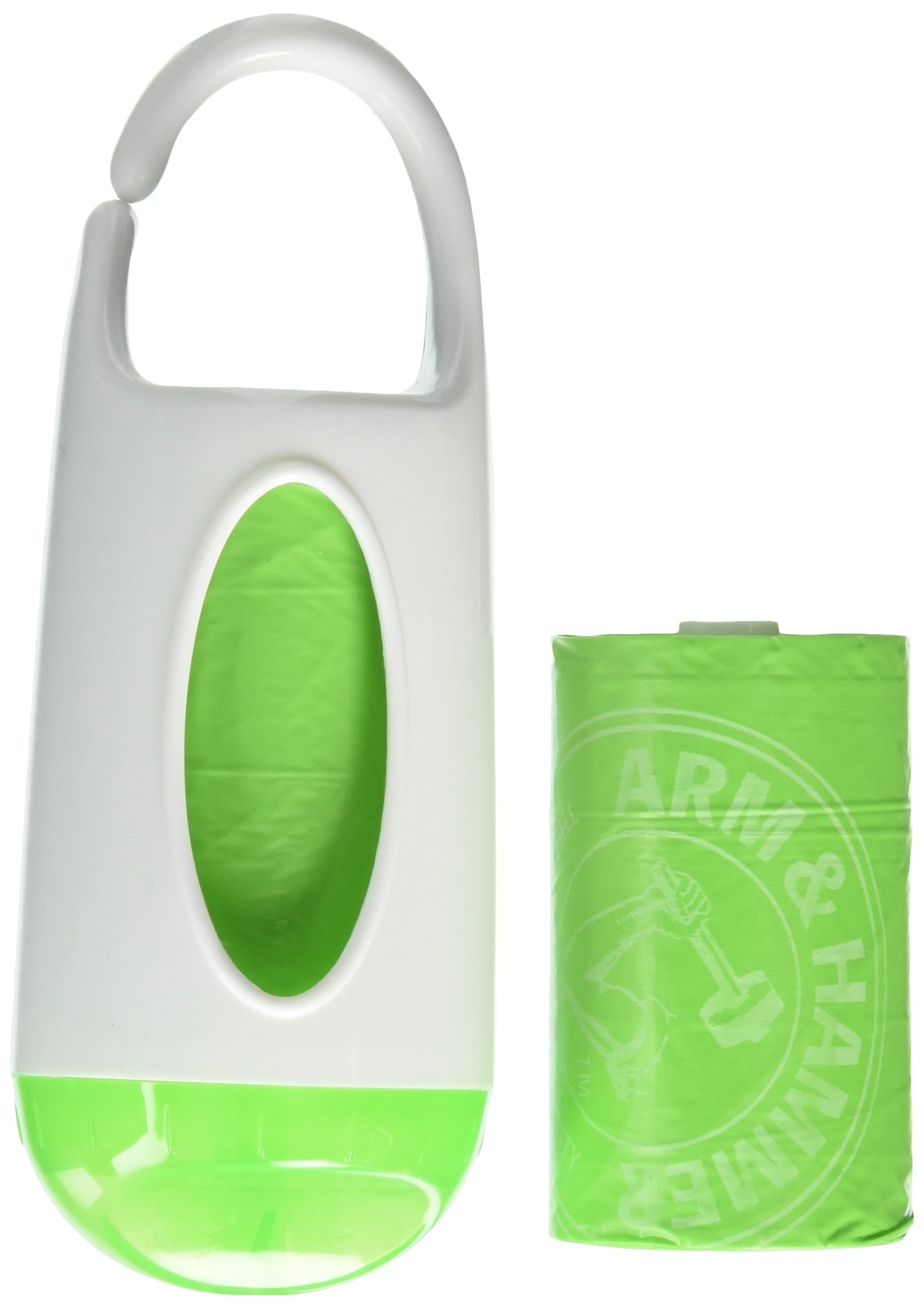Munchkin Arm and Hammer Diaper Bag Dispenser, (colours may vary)