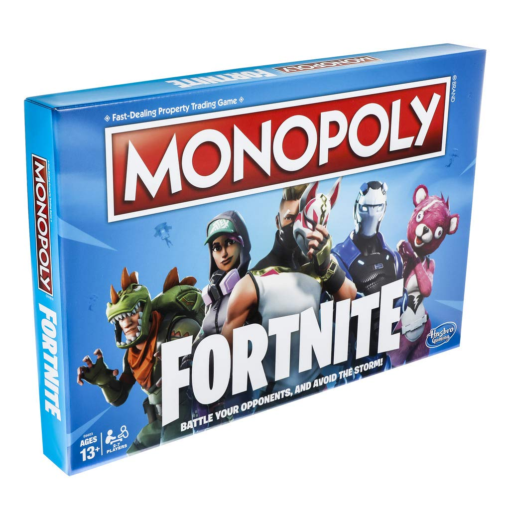 New Monopoly Fortnite Edition Board Game Inspired By Fortnite Game