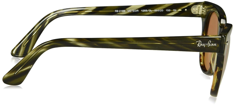 b46fd0956c ... official store amazon ray ban meteor polarized iridium square  sunglasses black 51.0 mm clothing f0c70 29d8a
