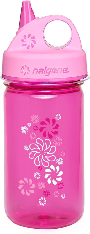 Nalgene Trinkflasche Everyday Grip-N-Gulp, 0.35l - Cantimplora, Color Rosa