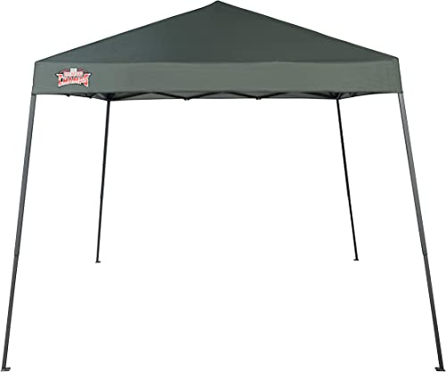 Backyard Champs Shade 64' 10'x10' Instant Canopy: Forest Green Top