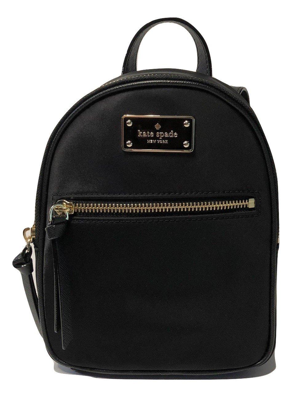 Kate Spade New York Wilson Road Mini Bradley Backpack Purse WKRU3318 Black
