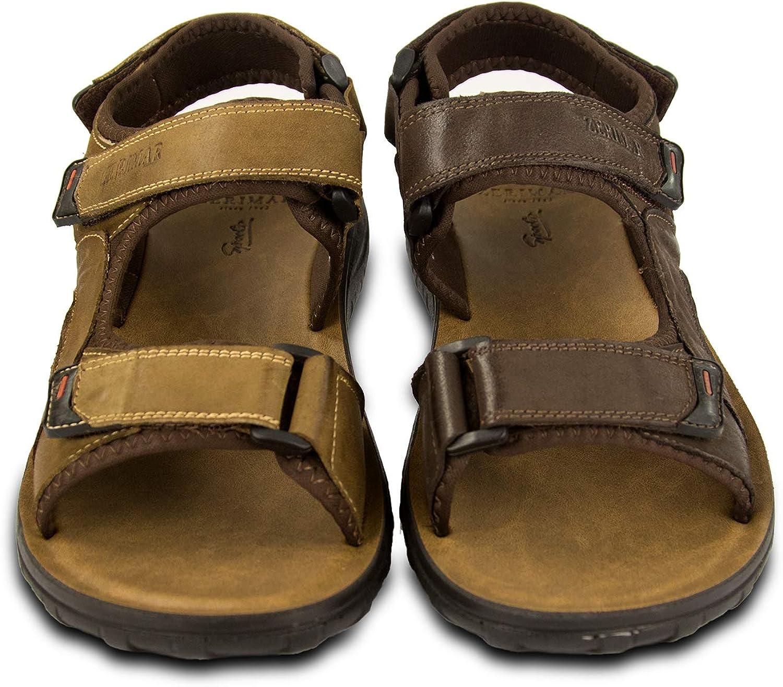 Zerimar Mens Sandals Trekking Sandals for Men Sandals Men Hiking Mens Leather Sandals Summer Sandals