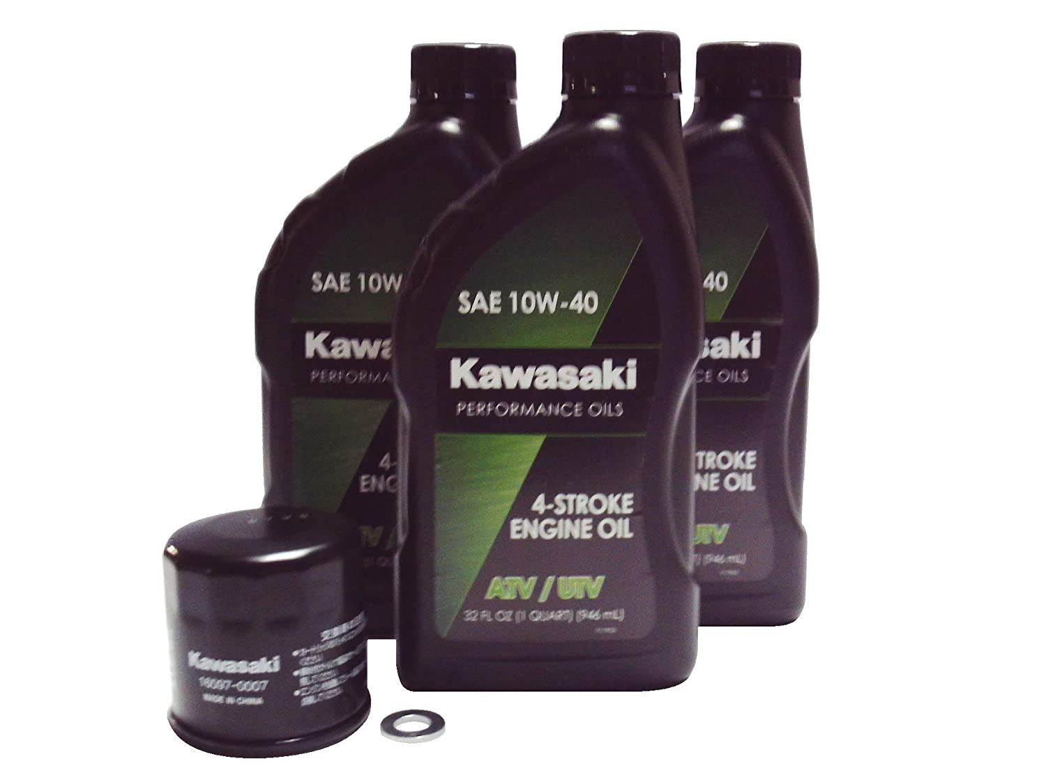 KAWASAKI Brute Force 650 750 Teryx 750 OEM Oil Change Kit KAW03