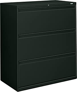product image for HON 883LS 800 Series 36-Inch by 19-1/4-Inch 3-Drawer Lateral File, Charcoal