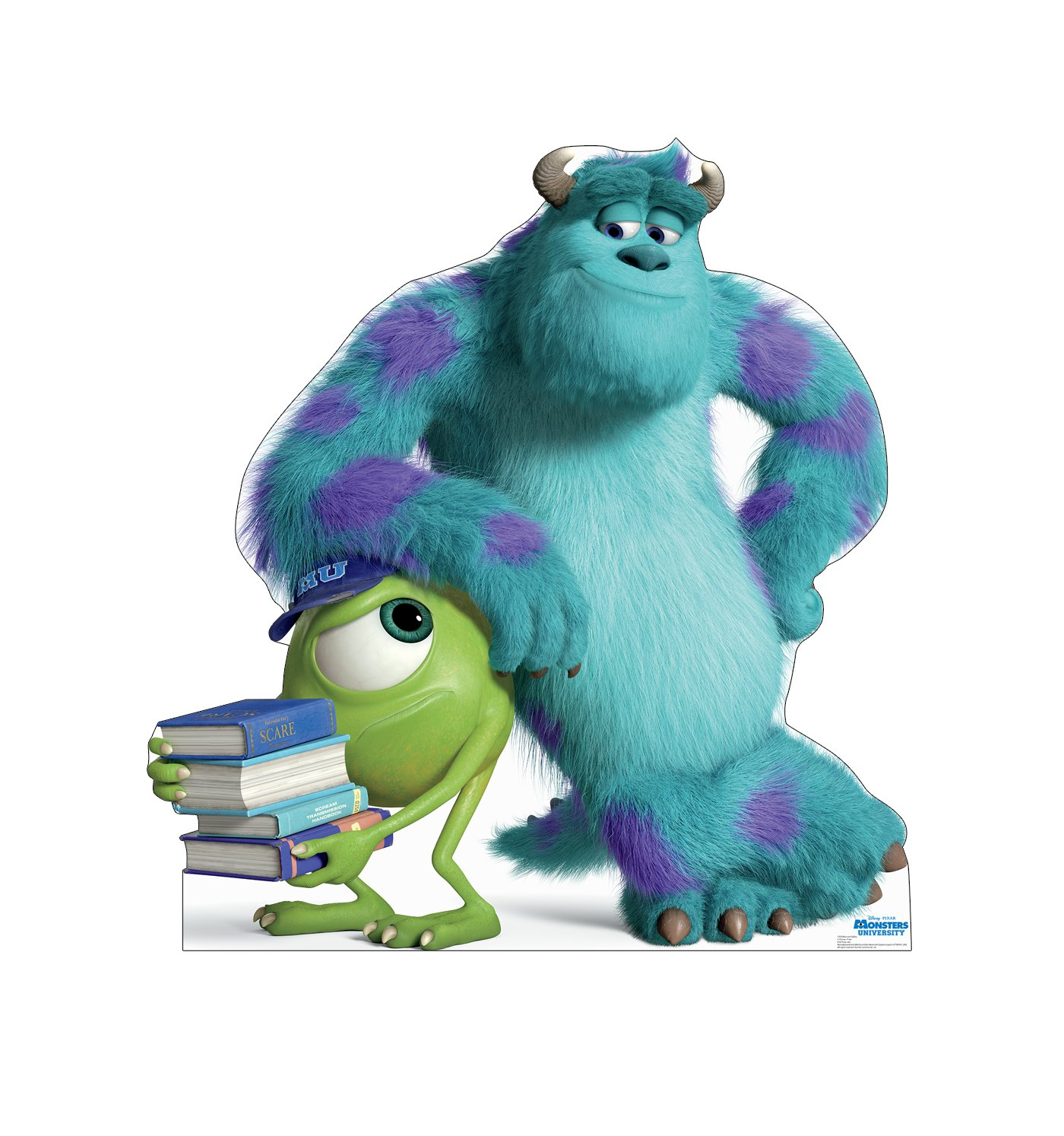 Advanced Graphics Mike & Sulley Life Size Cardboard Cutout Standup - Disney Pixar's Monsters University by Advanced Graphics
