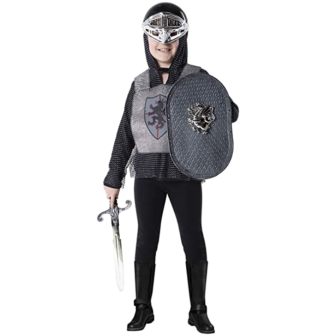 Amazon.com: Knight disfraz, ideal niño, niños niñas Medieval ...