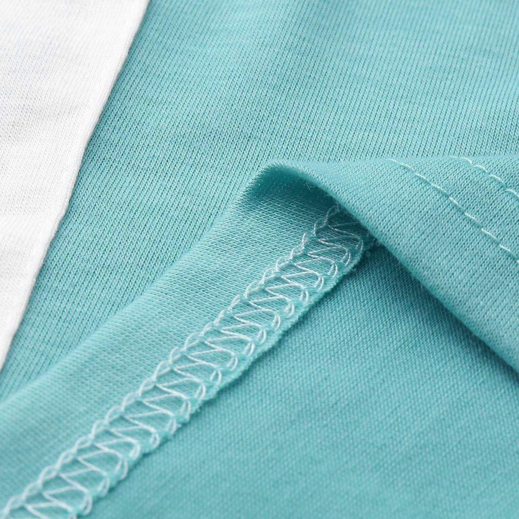 Frauen Pullover Lose Tops Patchwork Longsleeve /Übergro/ße T-Shirt Rundhals Winter Sweatshirt Beil/äufige Lange Tunika Tops mit Taschen Lose Oberteile