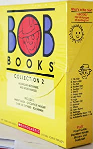 BOB Books COLLECTION 2 Box Set [ADVANCING BEGINNERS AND WORD FAMILIES]