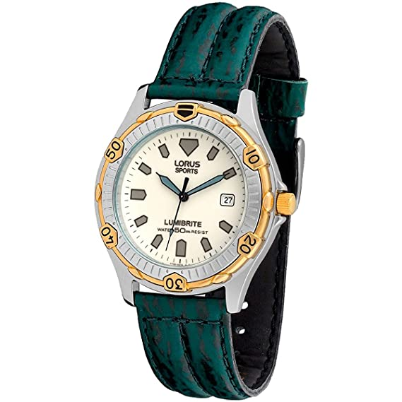 LORUS 6954 - Reloj Unisex piel