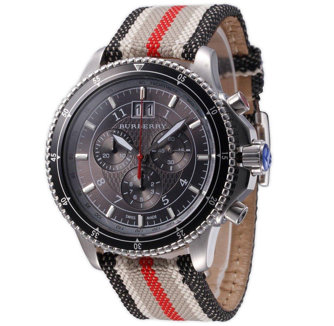 Burberry Endurance Bu7601 Black Chronograph Men's Watch by BURBERRY (Image #1)
