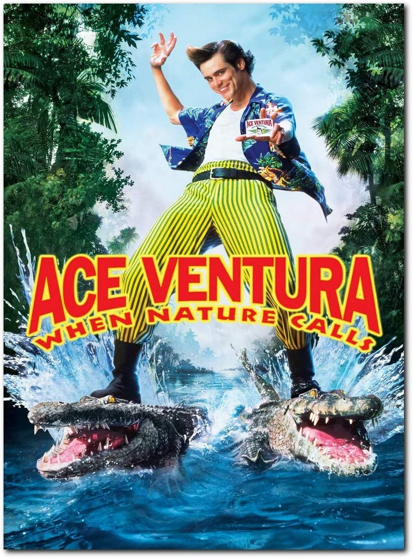 Ace Venture When Nature Calls Movie Poster (13 x 19 inch / 33 x 48 cm) unframed, Display Ready Photo Print