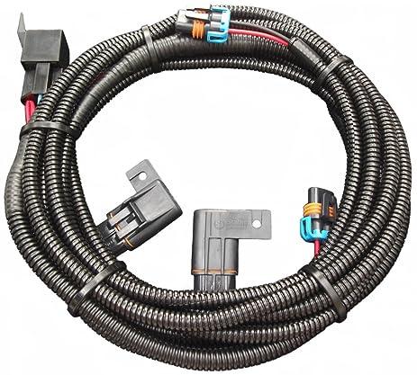 amazon com 2005 2009 v6 mustang fog light wiring harness h10 rh amazon com 2000 mustang fog light wiring harness 2004 mustang fog light wiring harness